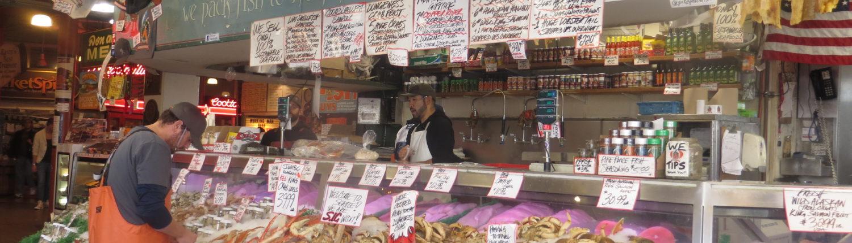 Pike Place Fish Company, Seattle, WA