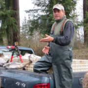 Nano Perez of Nisqually Tribe restoration crew