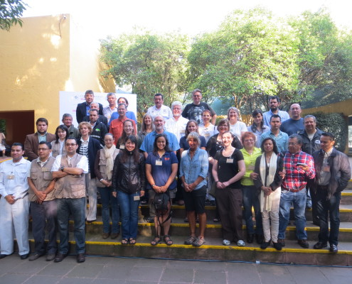 Participants of the 2015 MWSSP meeting held at Chapultepec Zoo in Mexico City, Mexico.
