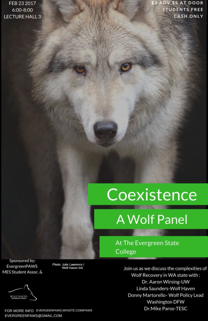 Wolf-Panel flyer