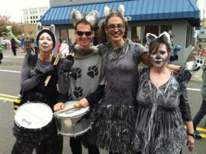 Wolf Haven staff as wolves at 2013 Procession of the Species.